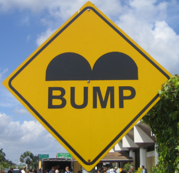Bump Road Sign